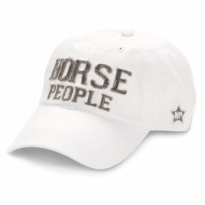 Horse People by We People - White Adjustable Hat