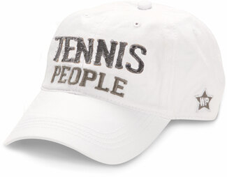 Tennis People by We People - White Adjustable Hat