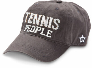 Tennis People by We People - Dark Gray Adjustable Hat