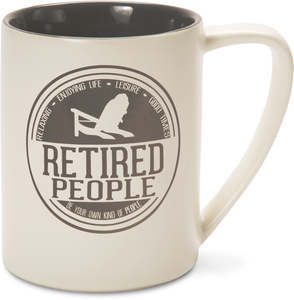Retired People by We People - 18 oz Mug