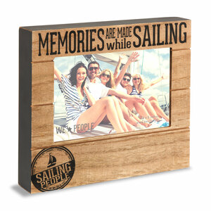 "Sailing People by We People - 6.75"" x 7.5"" Frame (Holds 4"" x 6"" photo)"