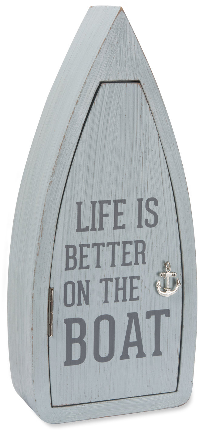 "Boat by We People - Boat - 11.75"" Boat Key Box"