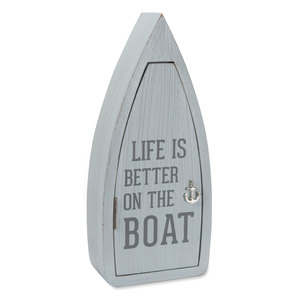 "Boat by We People - 11.75"" Boat Key Box"
