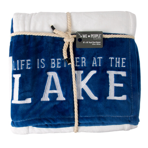 "Lake by We People - 50"" x 60"" Royal Plush Blanket"