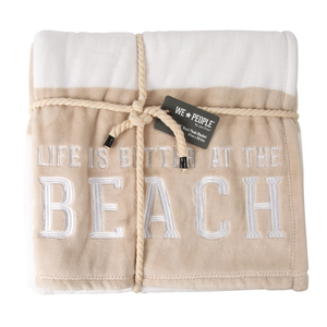 "Beach by We People - 50"" x 60"" Royal Plush Blanket"