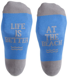 Beach People by We People - S/M Unisex Socks