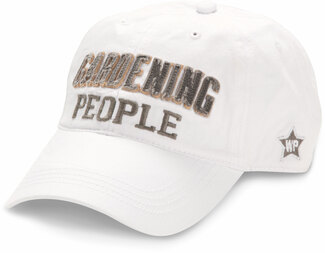 Gardening People by We People - White Adjustable Hat