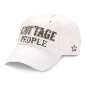 Cottage People by We People - White Adjustable Hat