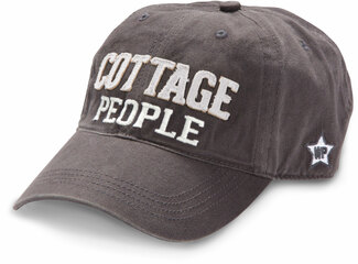 Cottage People by We People - Dark Gray Adjustable Hat