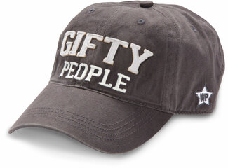 Gifty People by We People - Dark Gray Adjustable Hat