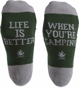 Camping People by We People - S/M Unisex Socks