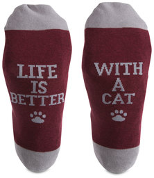 Cat People by We People - S/M Unisex Socks