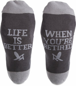 Retired People by We People - S/M Unisex Socks