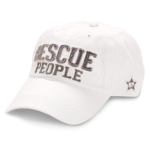 Rescue People by We People - White Adjustable Hat