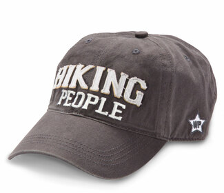 Hiking People by We People - Dark Gray Adjustable Hat