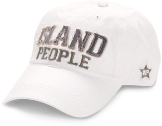 Island People by We People - White Adjustable Hat