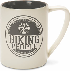 Hiking People by We People - 18 oz Mug