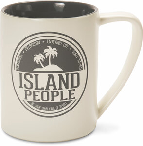 Island People by We People - 18 oz Mug
