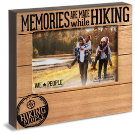 "Hiking People by We People - 6.75"" x 7.5"" Frame (Holds 4"" x 6"" photo)"