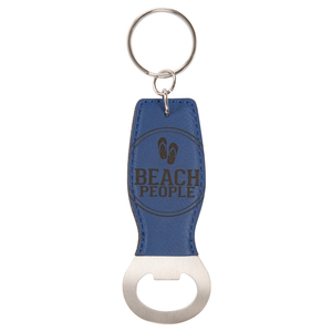 Beach People by We People - Bottle Opener Keyring