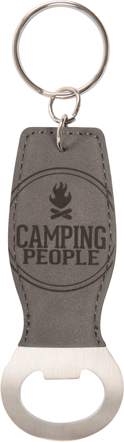 Camping People by We People - Camping People - Bottle Opener Keyring