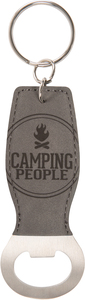Camping People by We People - Bottle Opener Keyring