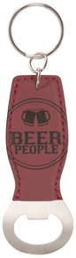 Beer People by We People - Bottle Opener Keyring