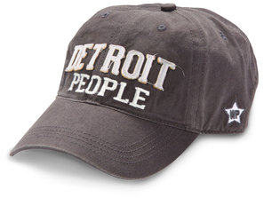 Detroit People by We People - Dark Gray Adjustable Hat