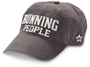 Running People by We People - Dark Gray Adjustable Hat