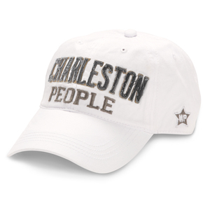 Charleston People by We People - White Adjustable Hat