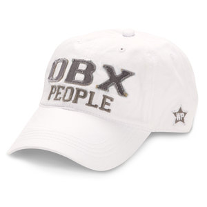 OBX People by We People - White Adjustable Hat
