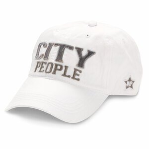 City People by We People - White Adjustable Hat