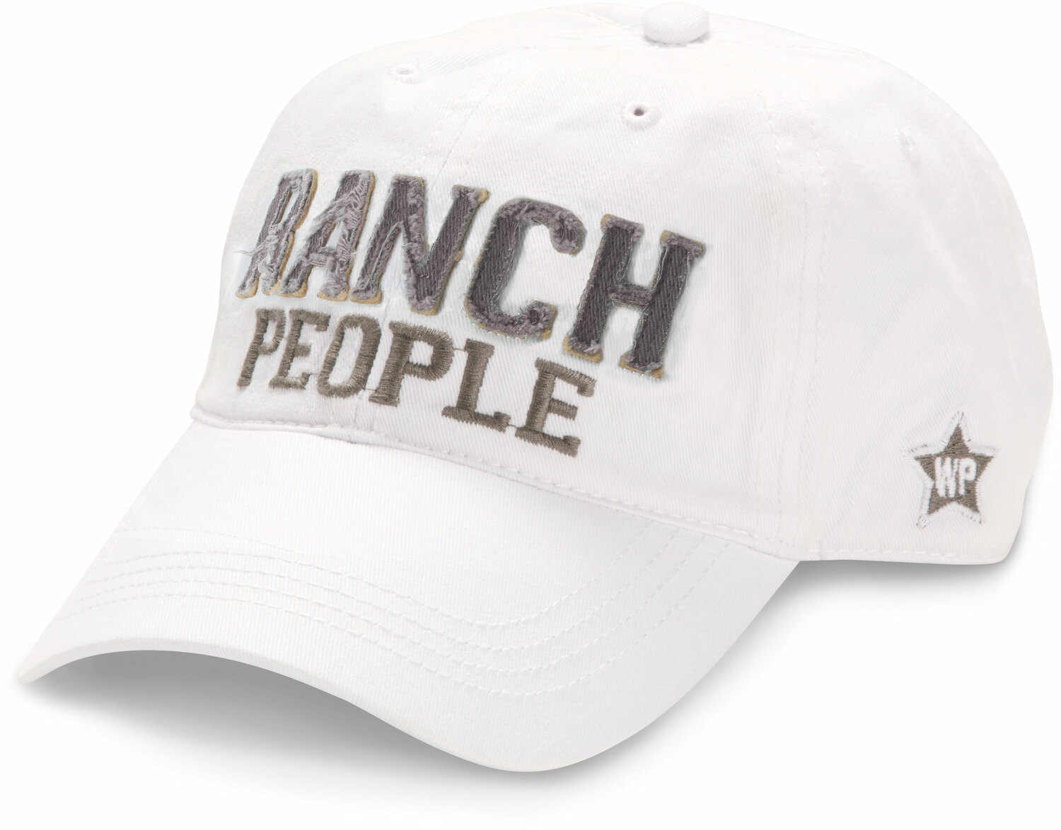 Ranch People by We People - Ranch People - White Adjustable Hat