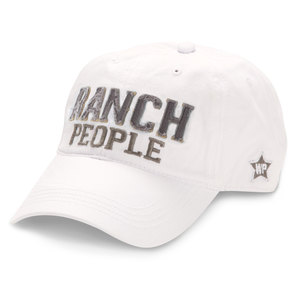 Ranch People by We People - White Adjustable Hat