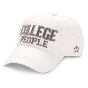 College People by We People - White Adjustable Hat