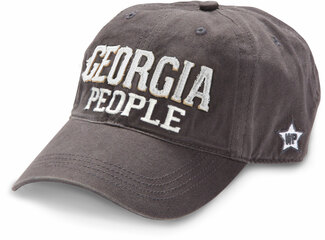 Georgia People by We People - Dark Gray Adjustable Hat