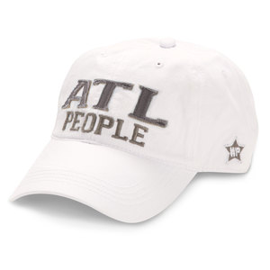 ATL People by We People - White Adjustable Hat