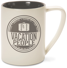 Vacation People by We People - 18 oz Mug