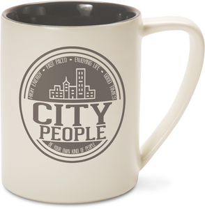 City People by We People - 18 oz Mug