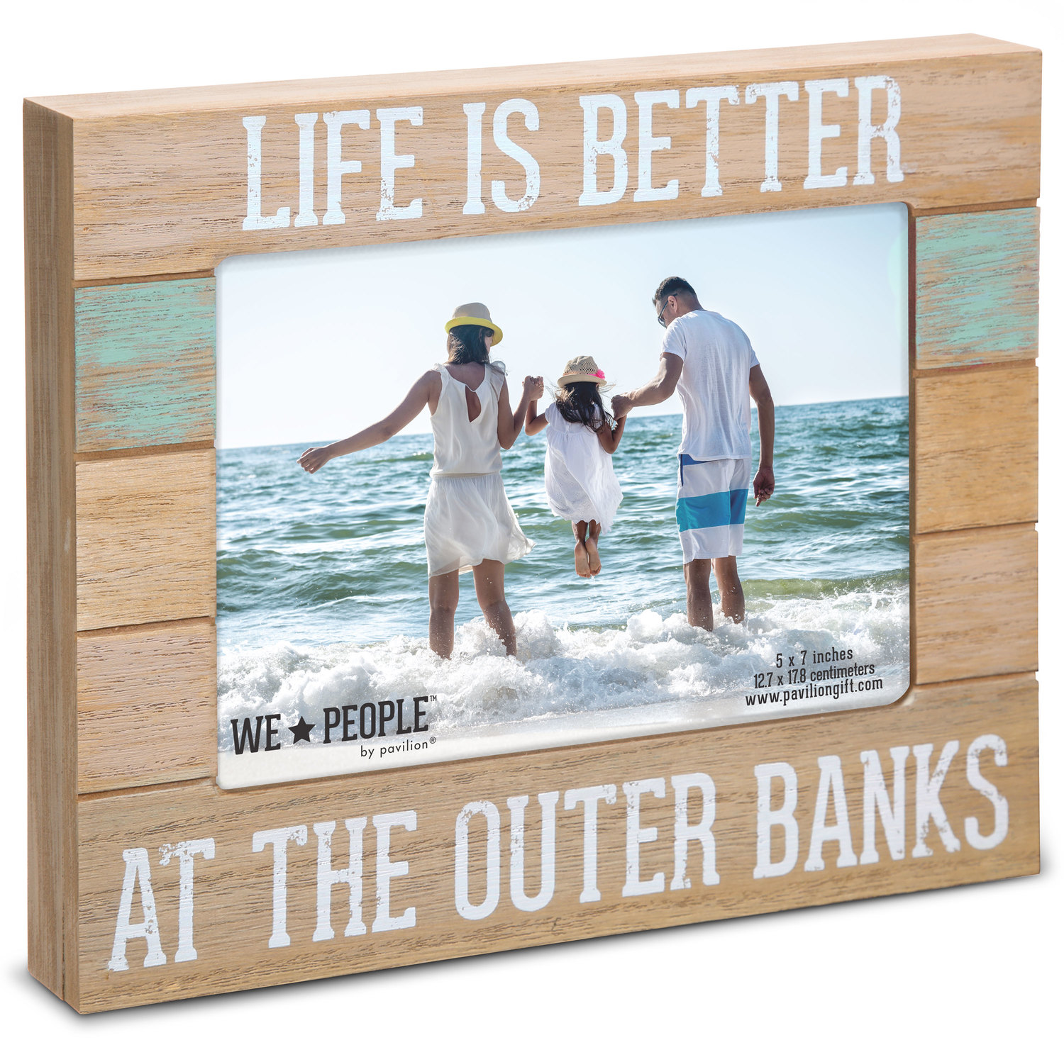 "OBX People by We People - OBX People - 7.25"" x 9"" Frame (Holds 5"" x 7"" photo)"