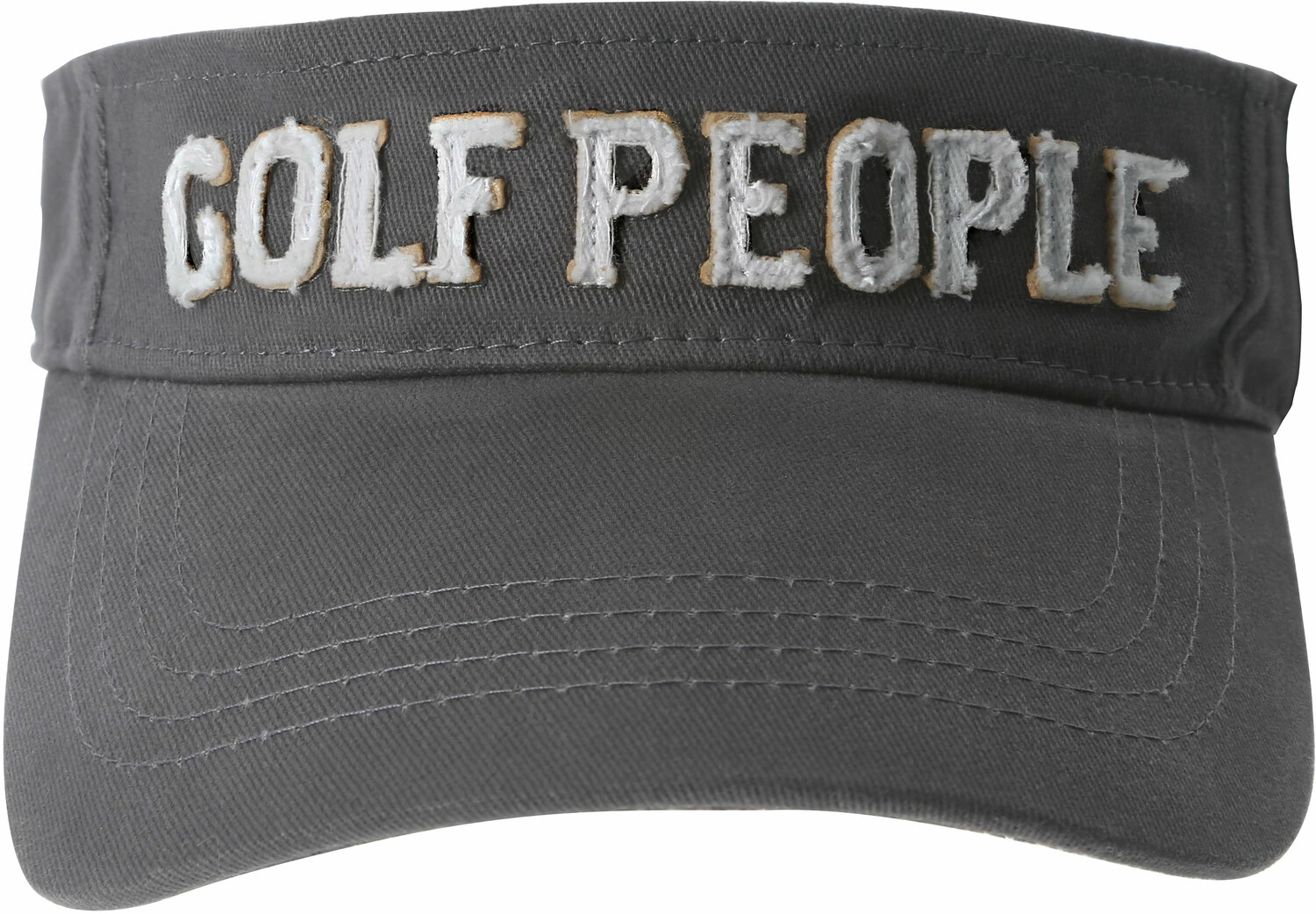 Golf People by We People - Golf People - Dark Gray Adjustable Visor Hat