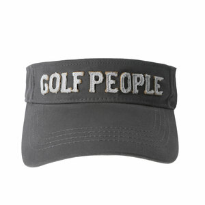 Golf People by We People - Dark Gray Adjustable Visor Hat