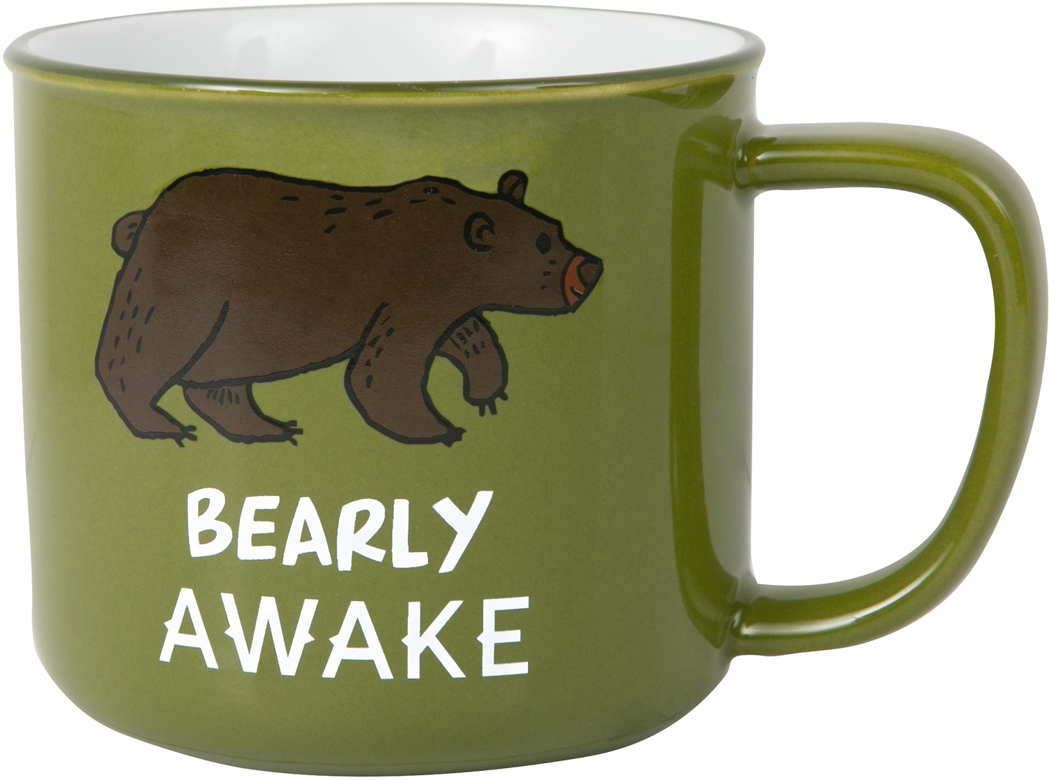 Bearly Awake by We People - Bearly Awake - 17 oz Mug