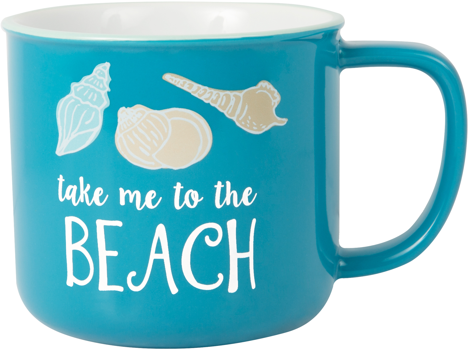To the Beach by We People - To the Beach - 17 oz Mug