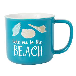 To the Beach by We People - 17 oz Mug