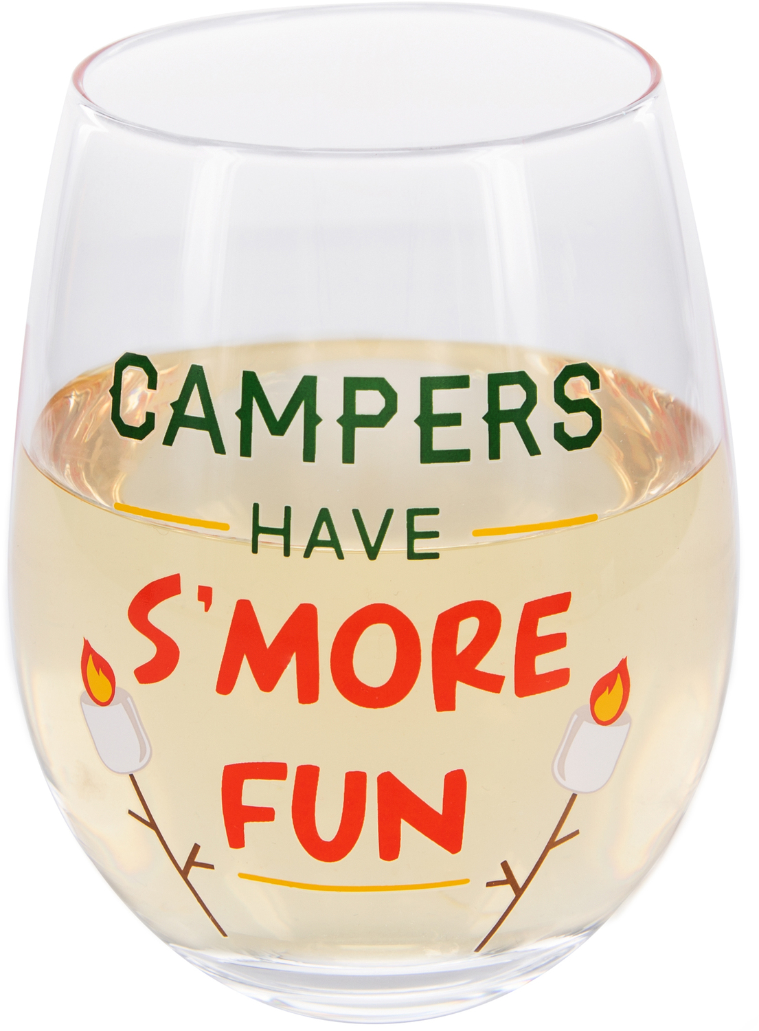 S'more Fun by We People - S'more Fun - 18 oz Stemless Wine Glass