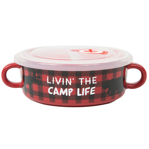 Camp Life by We People - 13.5 oz Double Handled Soup Bowl with Lid