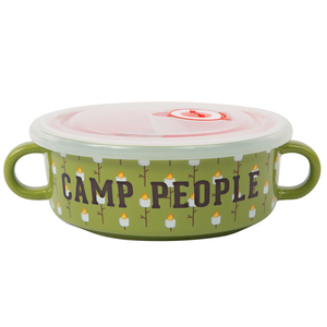 Camp People by We People - 13.5 oz Double Handled Soup Bowl with Lid