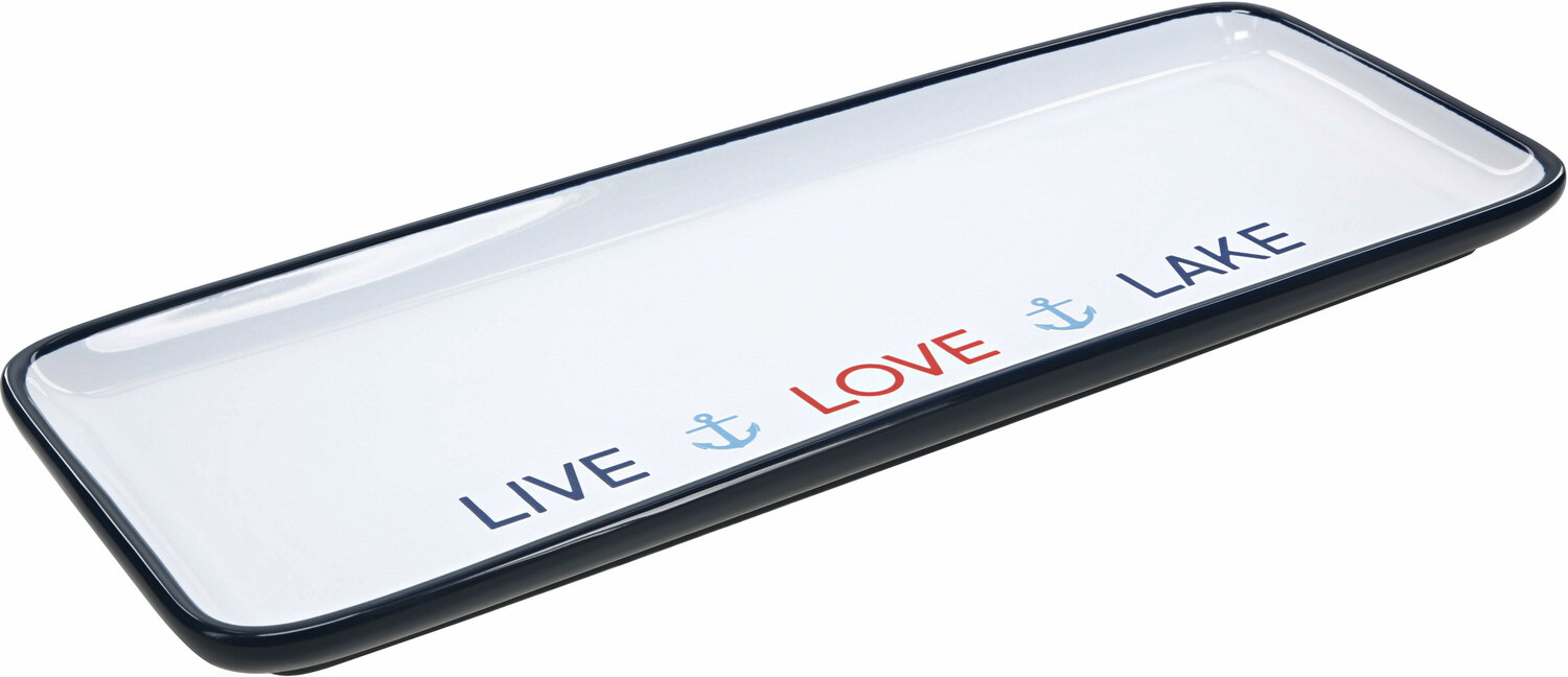 "Live Love Lake by We People - Live Love Lake - 12"" Tray"
