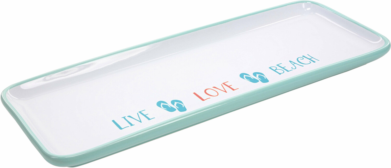 "Live Love Beach by We People - Live Love Beach - 12"" Tray"